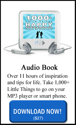 1000 Little Things Audio Book