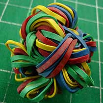 rubber band ball Rubber Band : Rubber Bands For Everyday Living