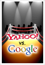 Yahoo vs. Google in valuation